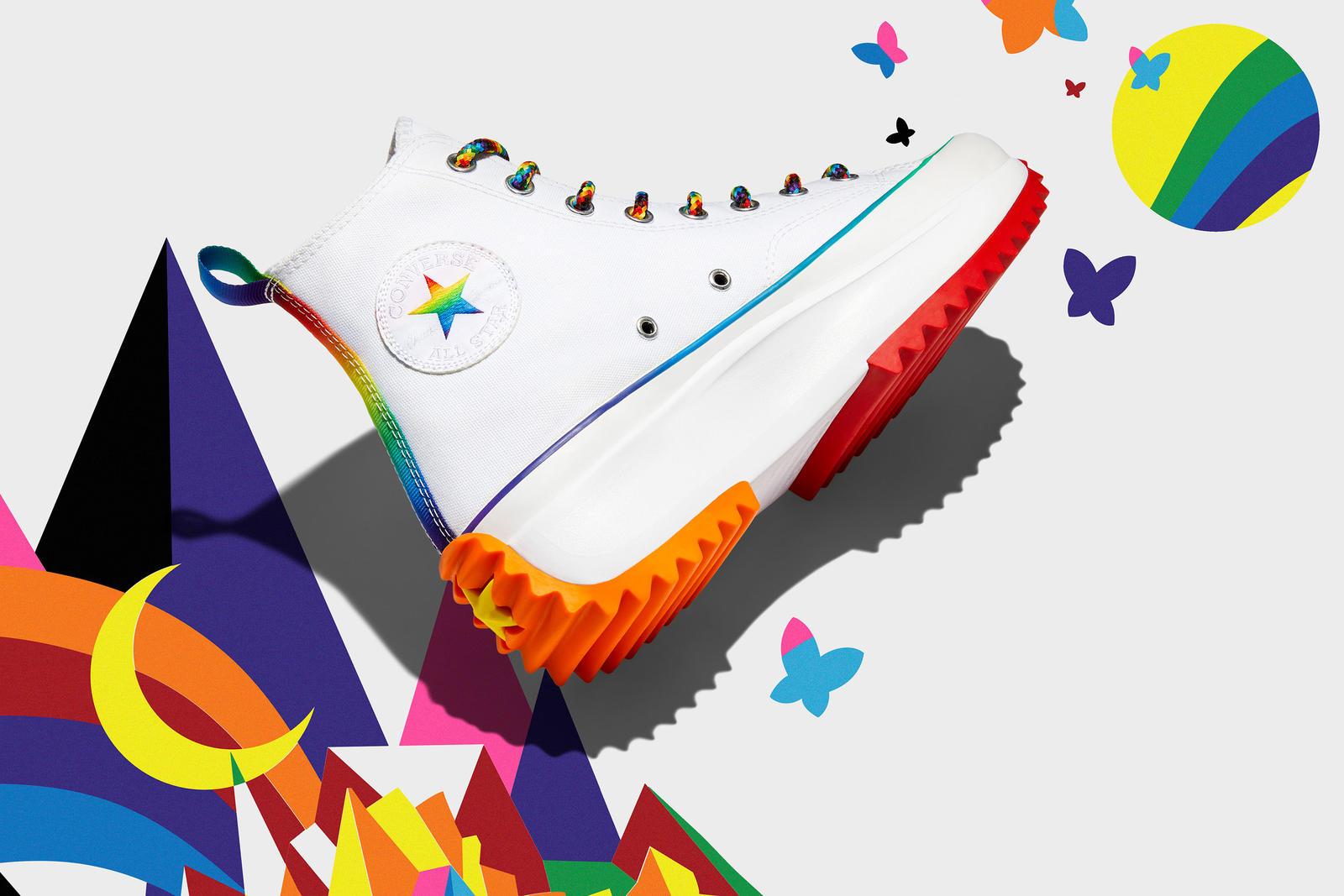 ต้อนรับเดือนแห่งความภาคภูมิใจด้วยคอลเลกชันรองเท้าและเสื้อผ้าหลากสีสันจาก Converse